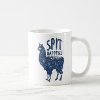 Spit Happens Llama | Coffee Mug