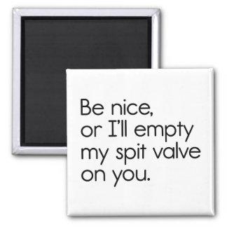 Spit Valve Refrigerator Magnet