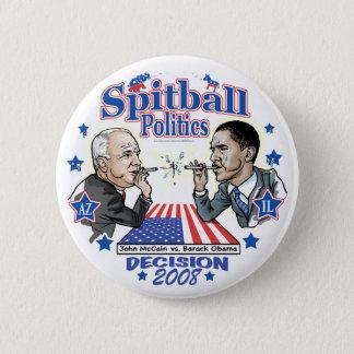 Spitball Politics 2008 6 Cm Round Badge