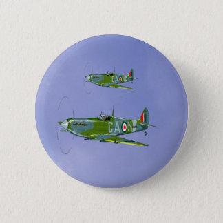 spitfire 234, 6 cm round badge