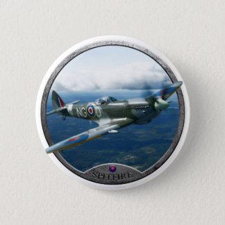 Spitfire 6 Cm Round Badge