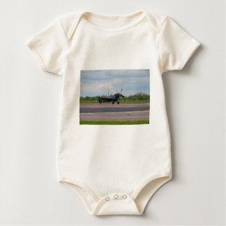 Spitfire After Landing Baby Bodysuit