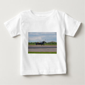 Spitfire After Landing Baby T-Shirt