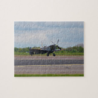 Spitfire After Landing Jigsaw Puzzle