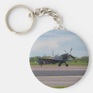 Spitfire After Landing Key Ring