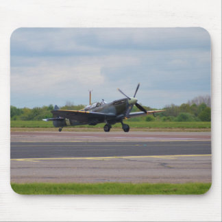 Spitfire After Landing Mouse Mat