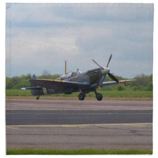 Spitfire After Landing Napkin