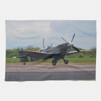 Spitfire After Landing Tea Towel