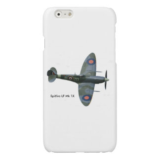 Spitfire Aircraft  iPhone-6-6s-Glossy-Finish-Case iPhone 6 Plus Case