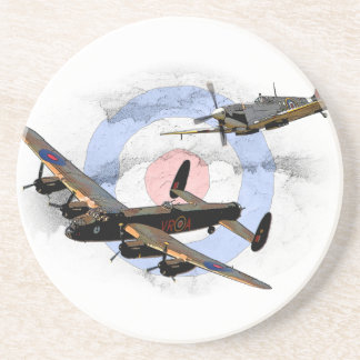 Spitfire and Lancaster Coaster