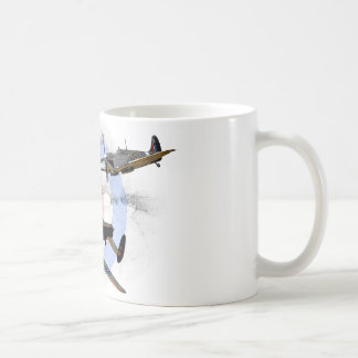 Spitfire and Lancaster Coffee Mug