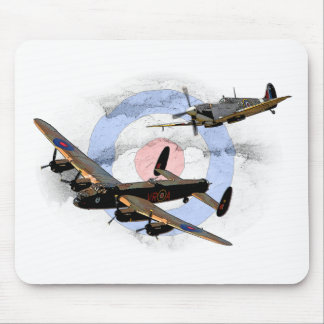 Spitfire and Lancaster Mouse Mat