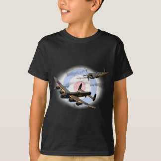 Spitfire and Lancaster T Shirt