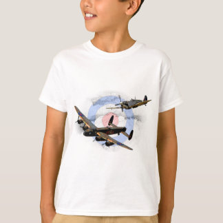Spitfire and Lancaster T-shirts