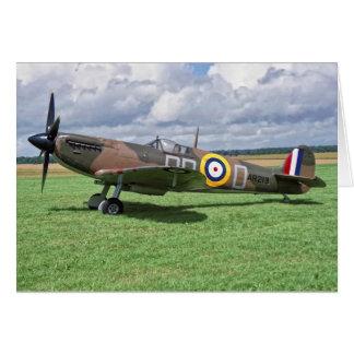 Spitfire AR213 Greeting Card