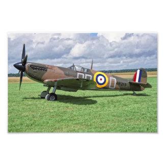Spitfire AR213 Photograph