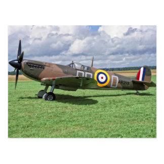 Spitfire AR213 Postcard