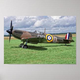 Spitfire AR213 Poster