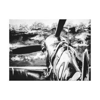 Spitfire At Dawn Canvas Print