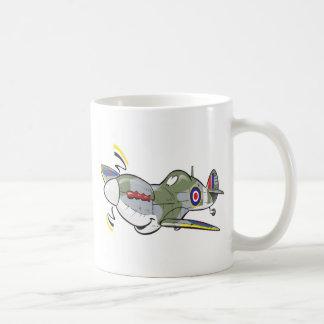 spitfire basic white mug