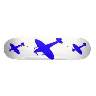 spitfire blue, spitfire blue, spitfire blue skate board deck