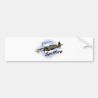 Spitfire Bumper Sticker