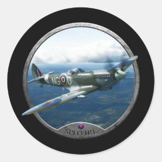 Spitfire Classic Round Sticker