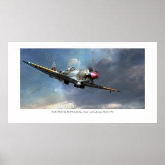 Spitfire FR.XVIII Poster