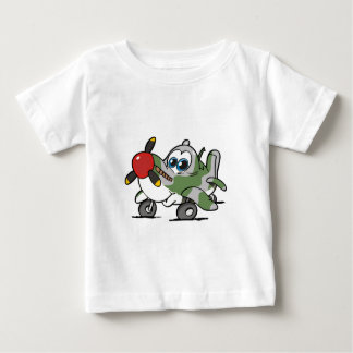 spitfire look alike baby plane t-shirt