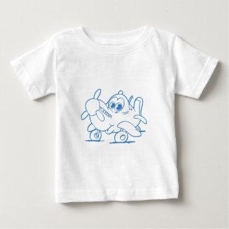 spitfire look alike babyplane t-shirt