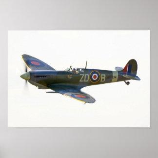 Spitfire MH-434 Poster