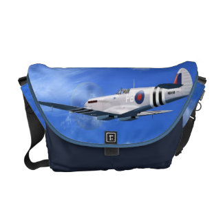 Spitfire Mk7 Fighter Plane Messenger Bag