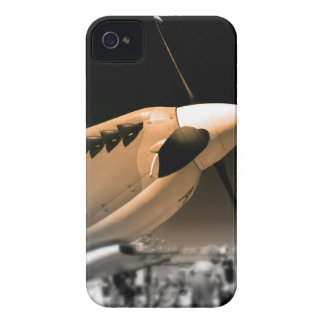 Spitfire Mk 1A aircraft Case-Mate iPhone 4 Cases