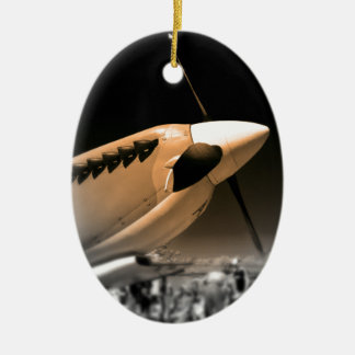 Spitfire Mk 1A aircraft Christmas Ornament