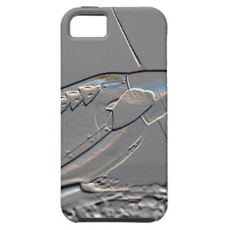 Spitfire Mk 1A aircraft embossed iPhone 5 Cases