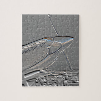 Spitfire Mk 1A aircraft embossed Jigsaw Puzzle