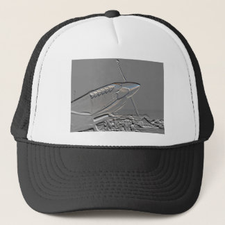 Spitfire Mk 1A aircraft embossed Trucker Hat
