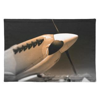 Spitfire Mk 1A aircraft Placemat