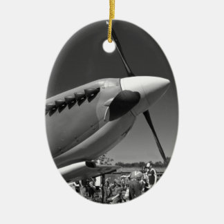 Spitfire Mk 1A Christmas Ornament