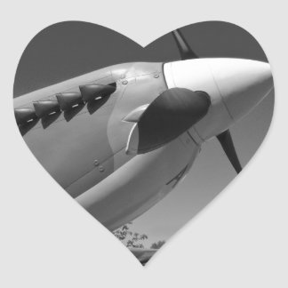 Spitfire Mk 1A Heart Sticker