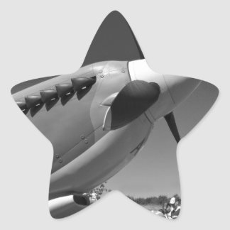 Spitfire Mk 1A Star Sticker