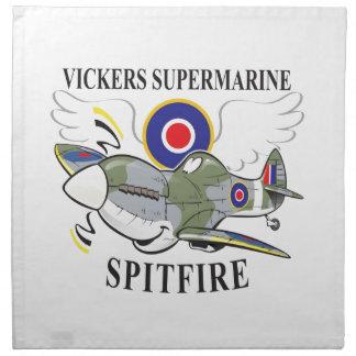 spitfire napkin