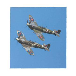 Spitfire Notepads