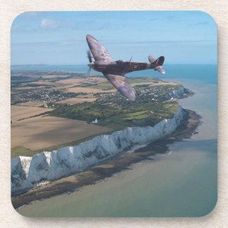 Spitfire over England Beverage Coasters