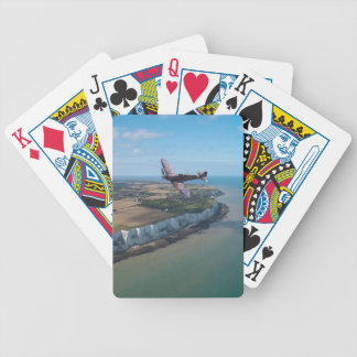Spitfire over England Bicycle Playing Cards