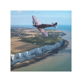 Spitfire over England Canvas Print