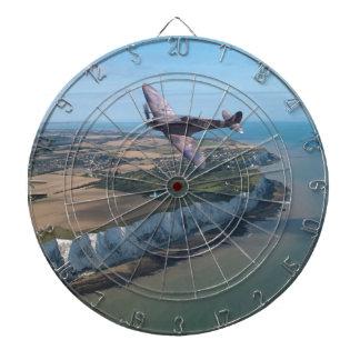 Spitfire over England Dartboard