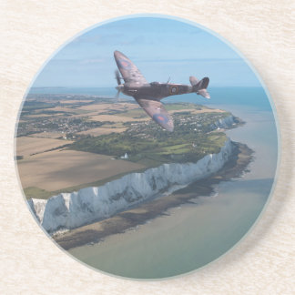 Spitfire over England Drink Coasters