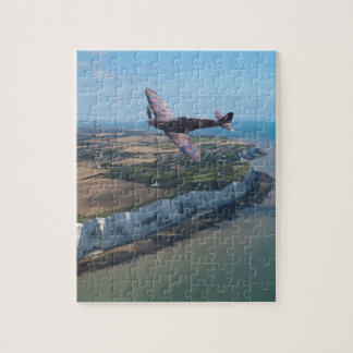 Spitfire over England Jigsaw Puzzle