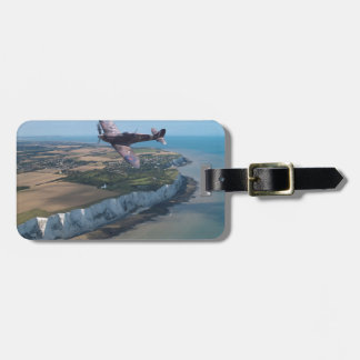 Spitfire over England Luggage Tag